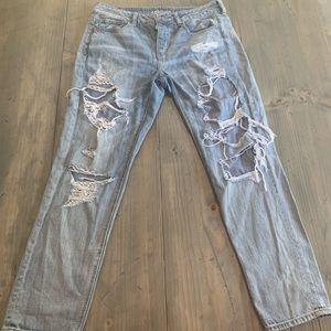 American Eagle Jeans Tomgirl Size 10 Regular